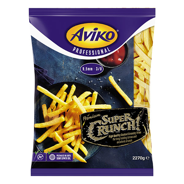 AVIKO SUPER CRUNCH COATED FRIES 9.5mm