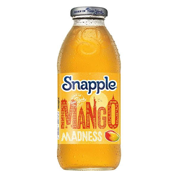 SNAPPLE MANGO MADNESS  12x473ml