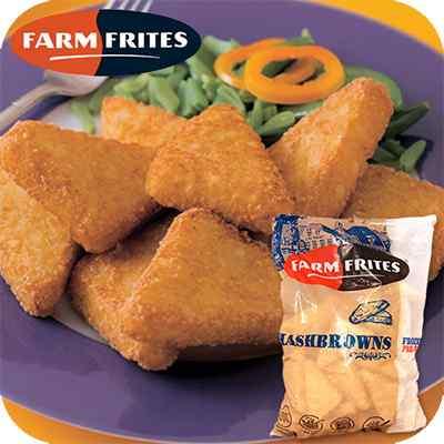 FARMFRITES HASH BROWNS  4x2500g