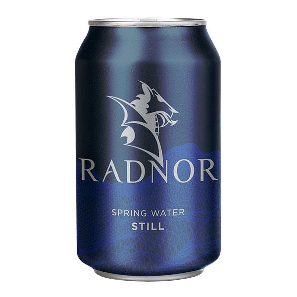 RADNOR STILL CANS SPRING WATER 24x330ml