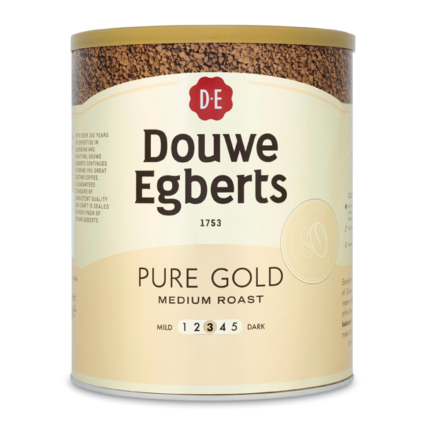 DOUWE EGBERTS PURE GOLD INST. COFFEE 1x750g
