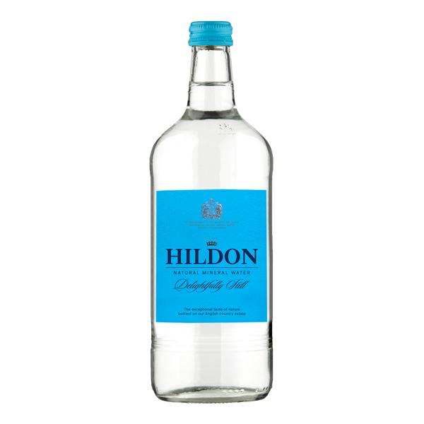 HILDON STILL GLASS BOTTLE WATER 12x750ml