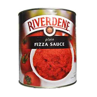 RIVERDENE PREMIUM PLAIN PIZZA SAUCE  6x2.9kg