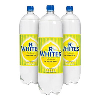 R WHITES LEMONADE BOTTLES  12x1.5lt