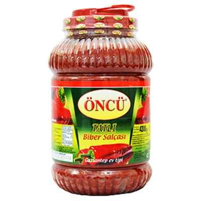 ONCU MILD ( TATLI ) HOME PEP. PASTE 4.3kg