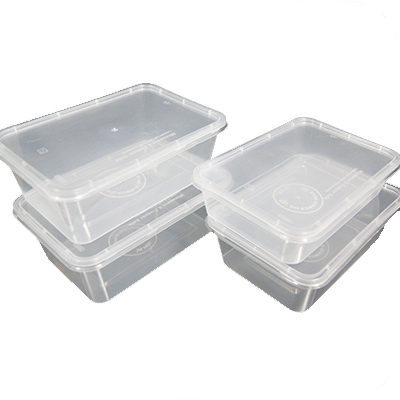 MICROWAVE ( cc650 ) CONTAINER & LIDS  1x250