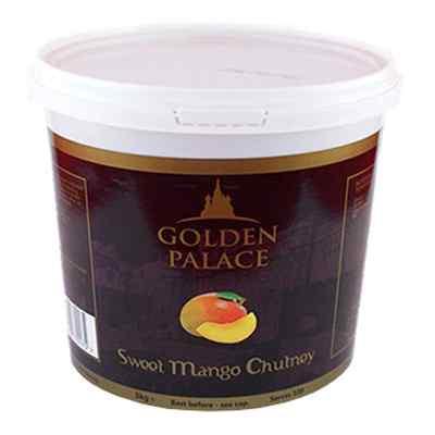 GOLDEN PALACE MANGO CHUTNEY 1x3kg