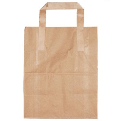 SMALL BROWN SOS BAG (7x10.5x8.5)  1x250 178x267x216mm  P/C23400010