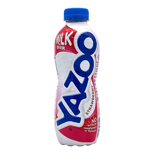 YAZOO STRAWBERRY MILK SHAKE 10 x 400ml