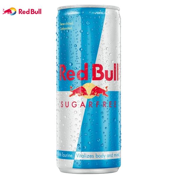 SUGAR FREE RED BULL (GB) CANS 24x250ml