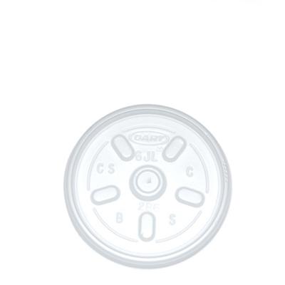 LIDS FOR 2/4/7oz CUPS ( P6JL )  1x1000 6JLTRFPF