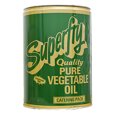 SUPERFRY VEGETABLE OIL (TIN)  1x20lt