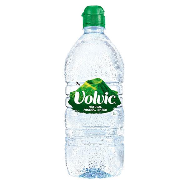 VOLVIC SPORTS CAP WATER 12x1lt