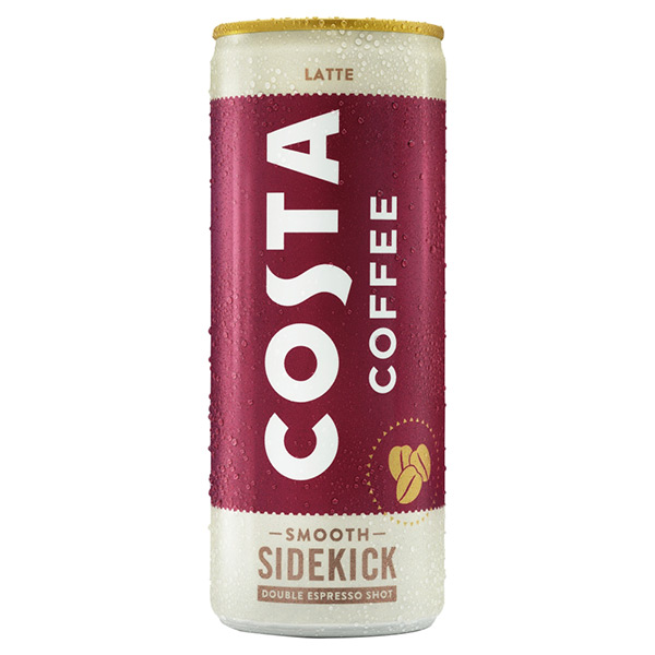 COSTA LATTE CANS  12x250ml