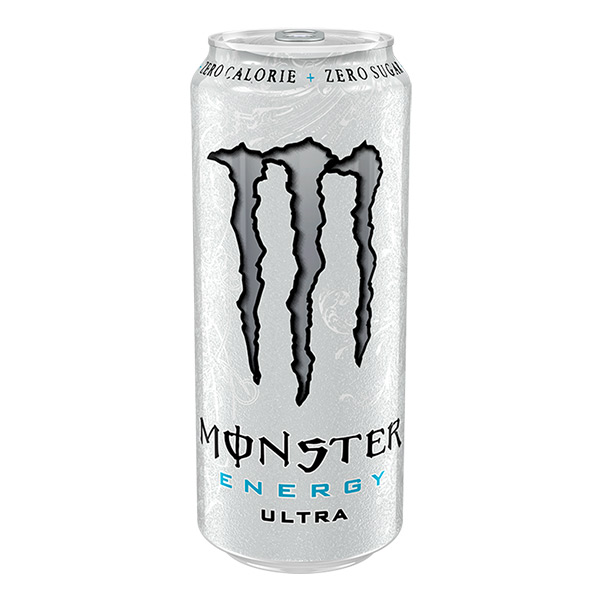 MONSTER ULTRA SILVER  (CAN) 12 x 500ML