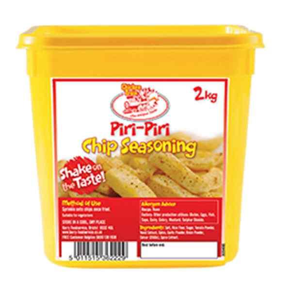CHICKEN TRAIN PIRI PIRI CHIP SEASONING 2kg